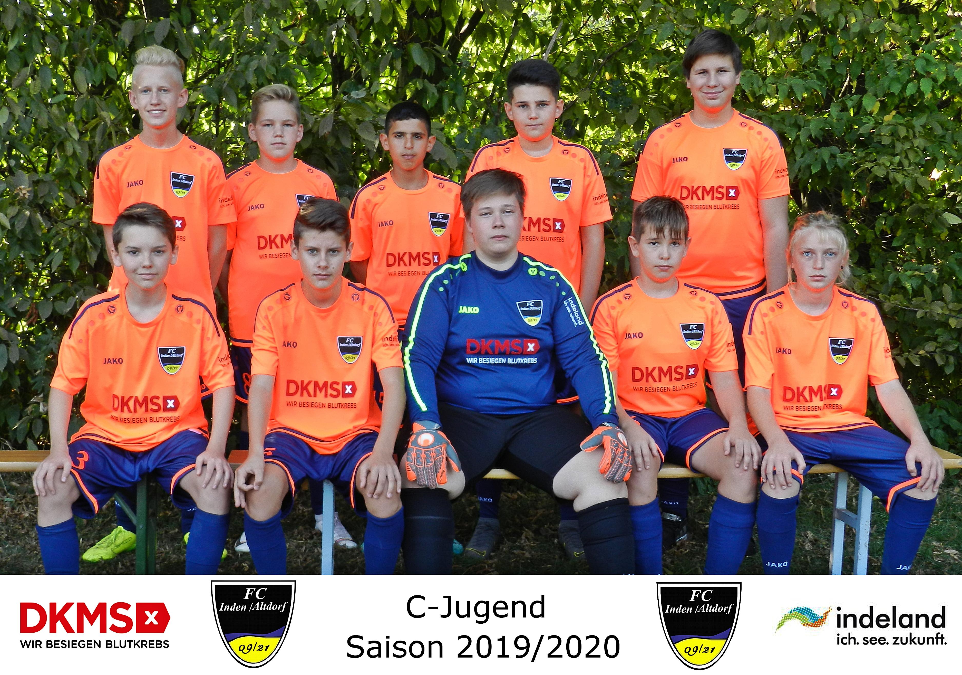 Mannschaftsfoto C-Junioren
