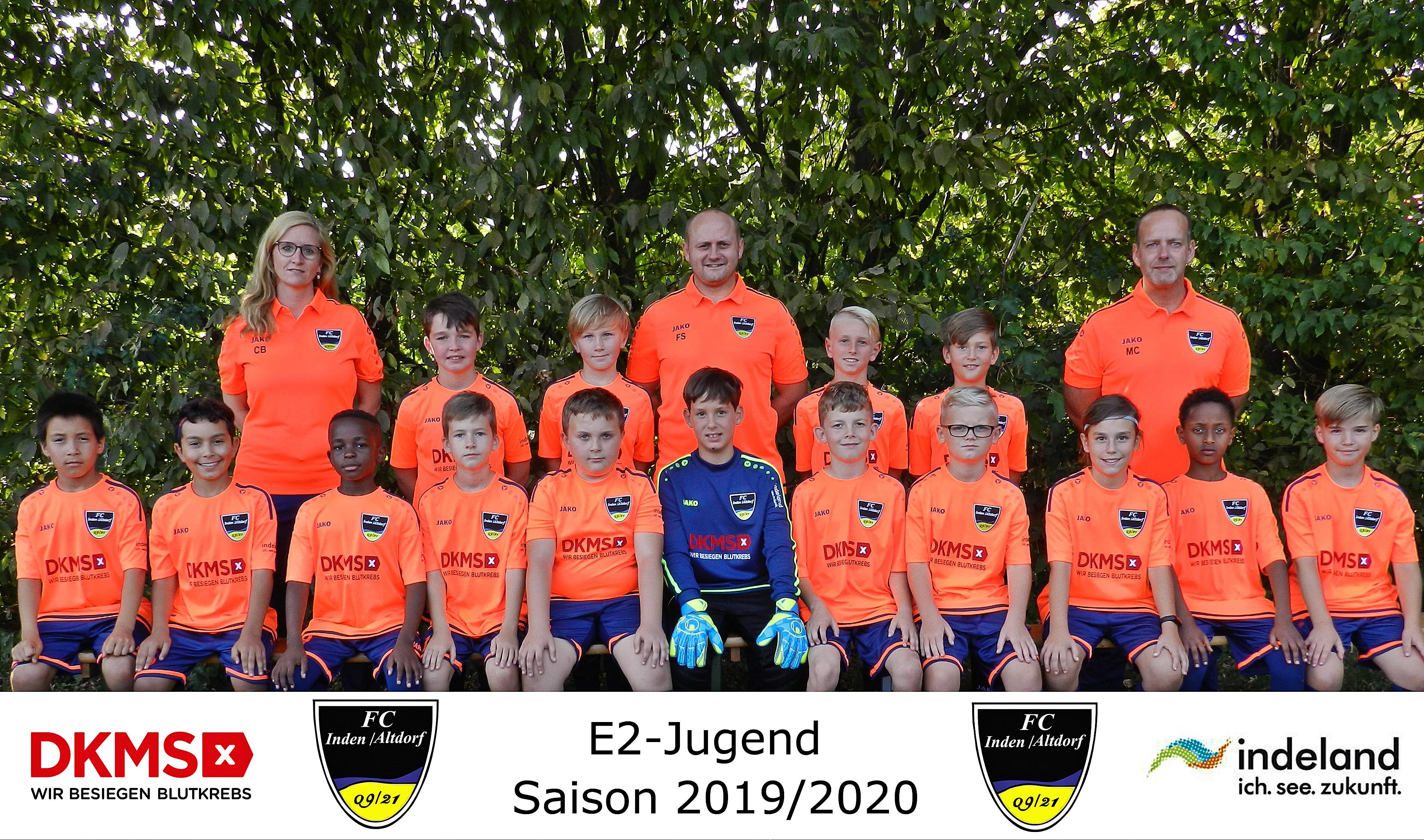 Mannschaftsfoto E-2 Junioren